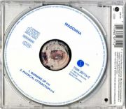 BURNING UP - UK / GERMANY CD SINGLE (WHITE LABEL)